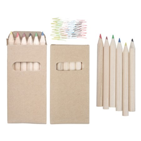 Set de 6 crayons de couleurs kitty publicitaire divers